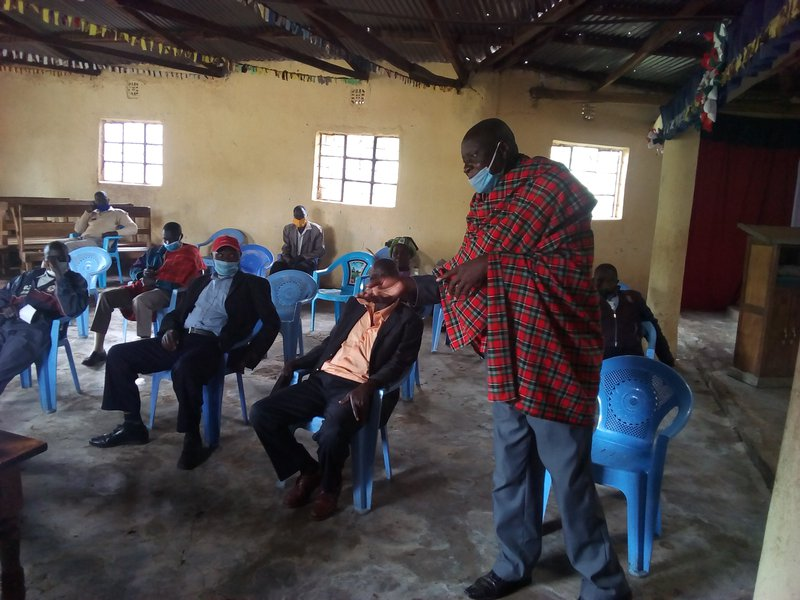 Amani CBO: Engaging Elders in early warning and response to conflict issues dialogue