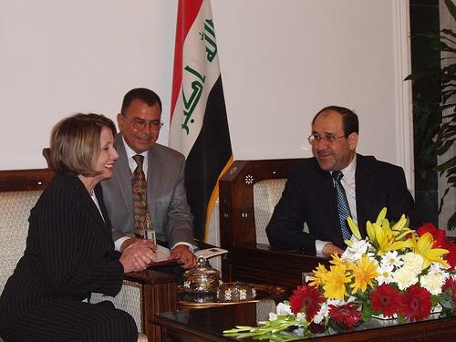 Nuri al Maliki_Nancy Pelosi
