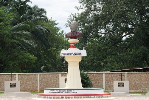 The memorial to assassinated Burundi President Melchior Ndadaye