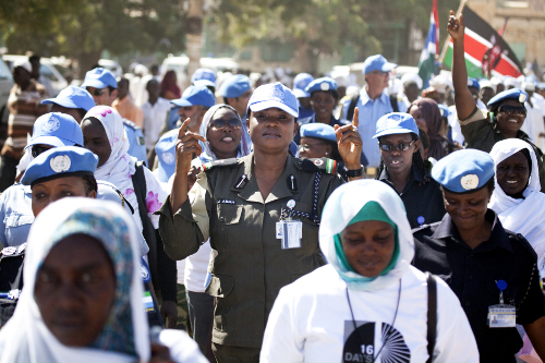 Darfur Women March in Campaign against Gender-Based Violence