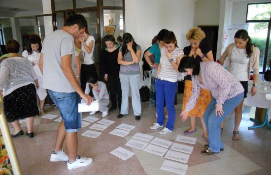 A training course on peace education, August 2011 in Kichevo, Macedonia
