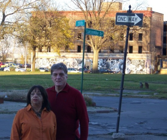 John Turley & Mary Morris in South West Detroit