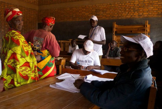Burundi legislative elections in 2010