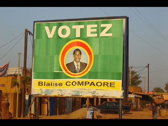 Blaise Campaoré rule for 27 years in Burkina Faso, before being forced to resign in 2014. Image credit: Jonathan Dueck