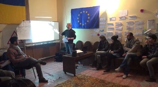 Workshop on multiculturalism in Kaspi