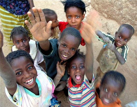 Children in Niger. Image credit: Alessandro Vannucci