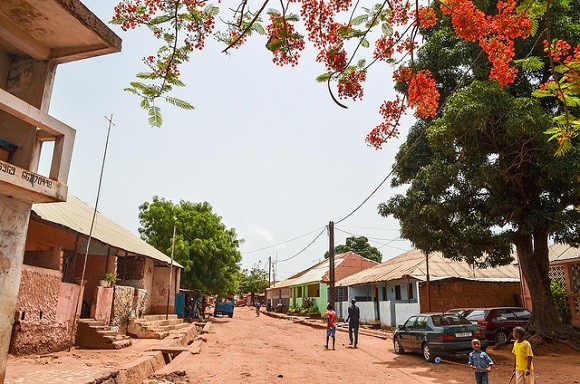 Guinea-Bissau has seen frequent changes of government and coup d'état since it gained independence in 1974. Image credit: Jbdodane.
