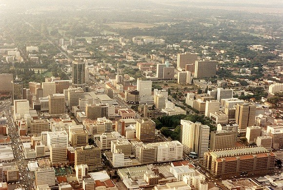 The Zimbabwean capital, Harare. Image credit: Martin Addison.