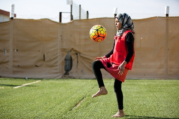 jordanian champion to people s champion how one woman is using sport to build hope in the. Black Bedroom Furniture Sets. Home Design Ideas