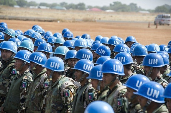 Nepalese peacekeepers in South Sudan. The UN Mission in South Sudan has documented abuses in the country, but the standard of proof is unlikely to be high enough for convictions. Image credit: United Nations Photo.