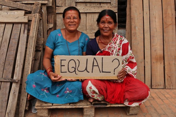 The struggle for female equality in Nepal is an ongoing issue. Image credit: World Bank Photo Collection