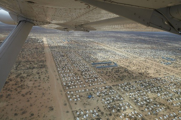 Dadaab, in Kenya, is the world's largest refugee camp. It is home to thousands of Somalis. Image credit: Oxfam International.